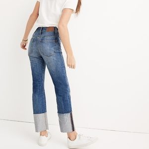 Madewell Rigid Straight Crop Jeans, 25